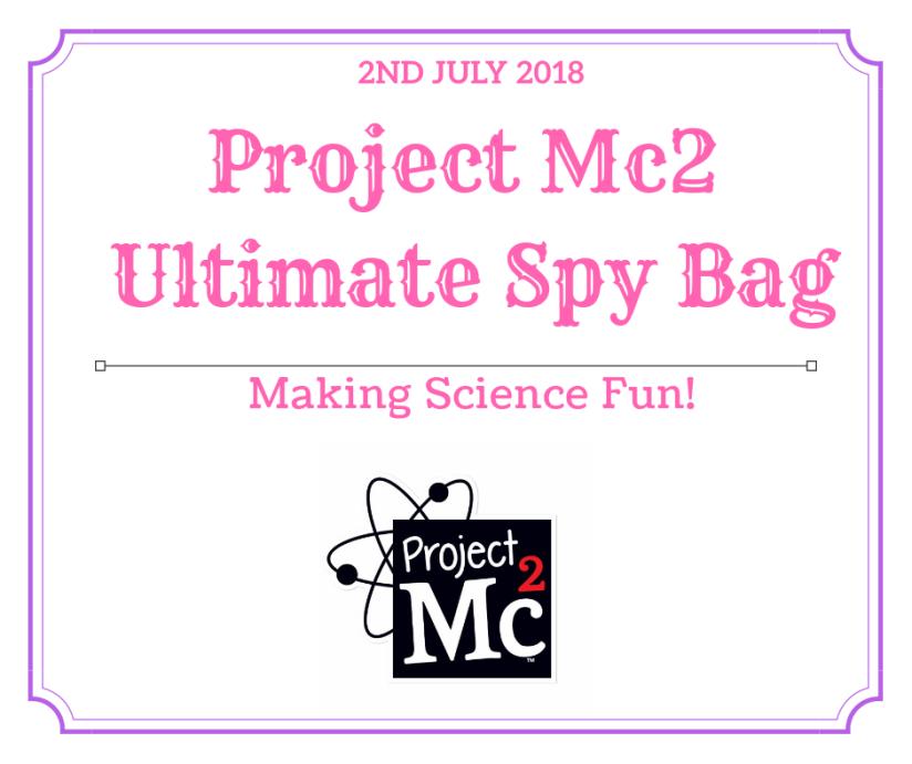 Project Mc2 Ultimate SpyBag