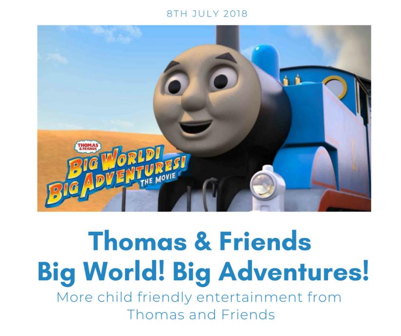 "Thomas & Friends – ""Big World! Big Adventures! TheMovie"""